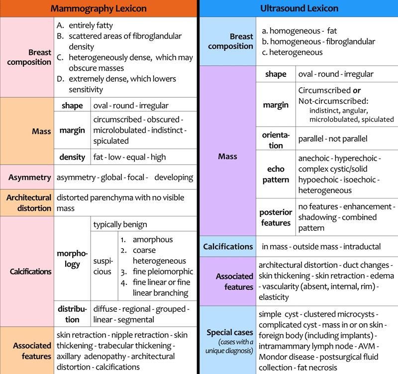 Clasificatie birads 4 fibroadenom
