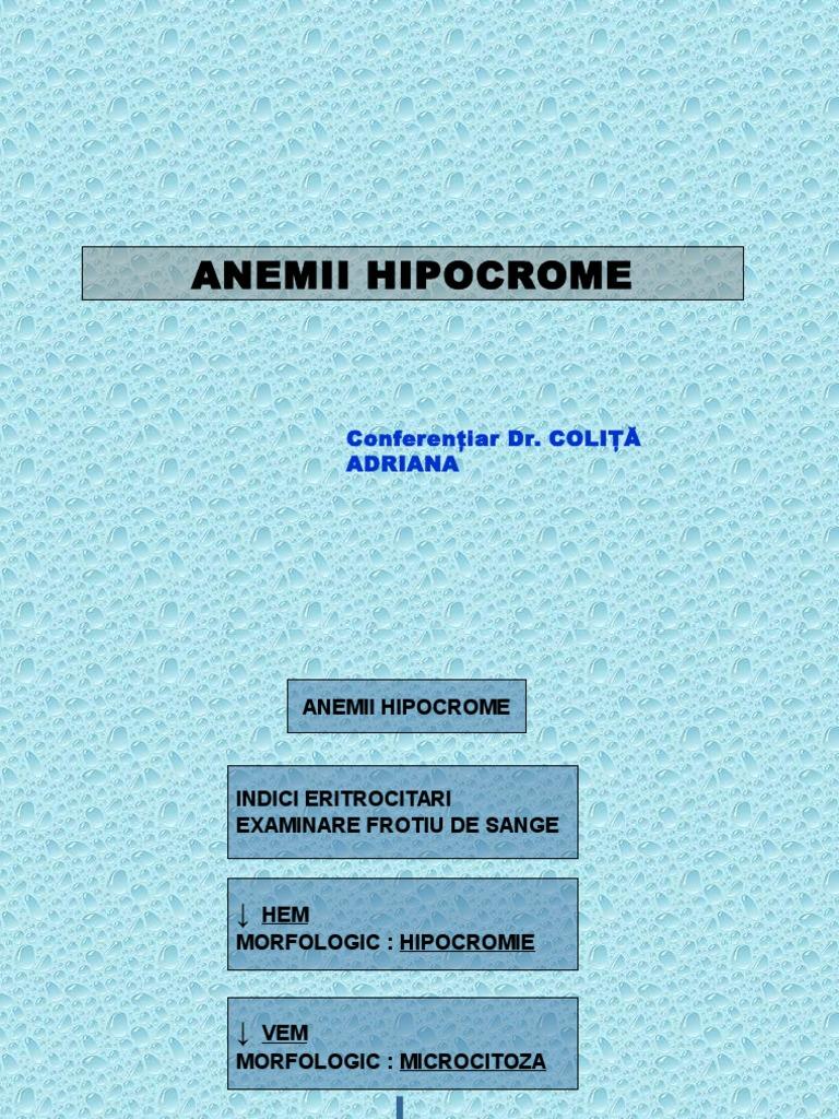 Anemia feriprivă: cauze, simptome, tratament - asspub.ro