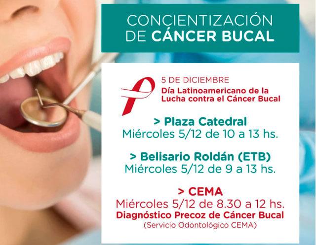 cancer bucal dia latinoamericano)