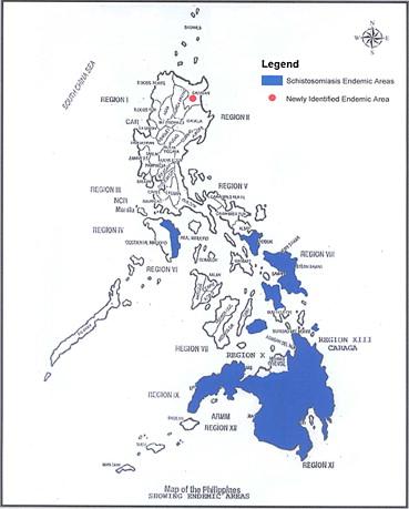 schistosomiasis treatment philippines