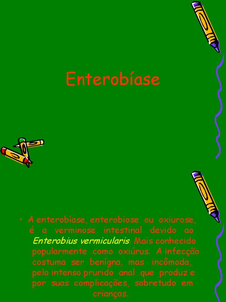 enterobius vermicularis diagnostico laboratorial
