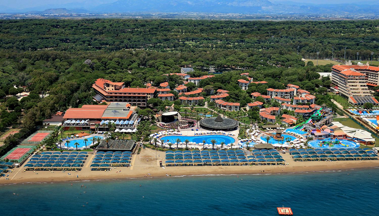 Belek Hartă şi hoteluri în Zona Belek – Antalya