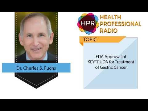 gastric cancer keytruda fda