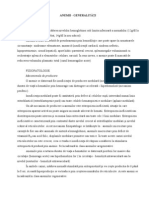 Anemie diseritropoietica congenitala, Programări Online