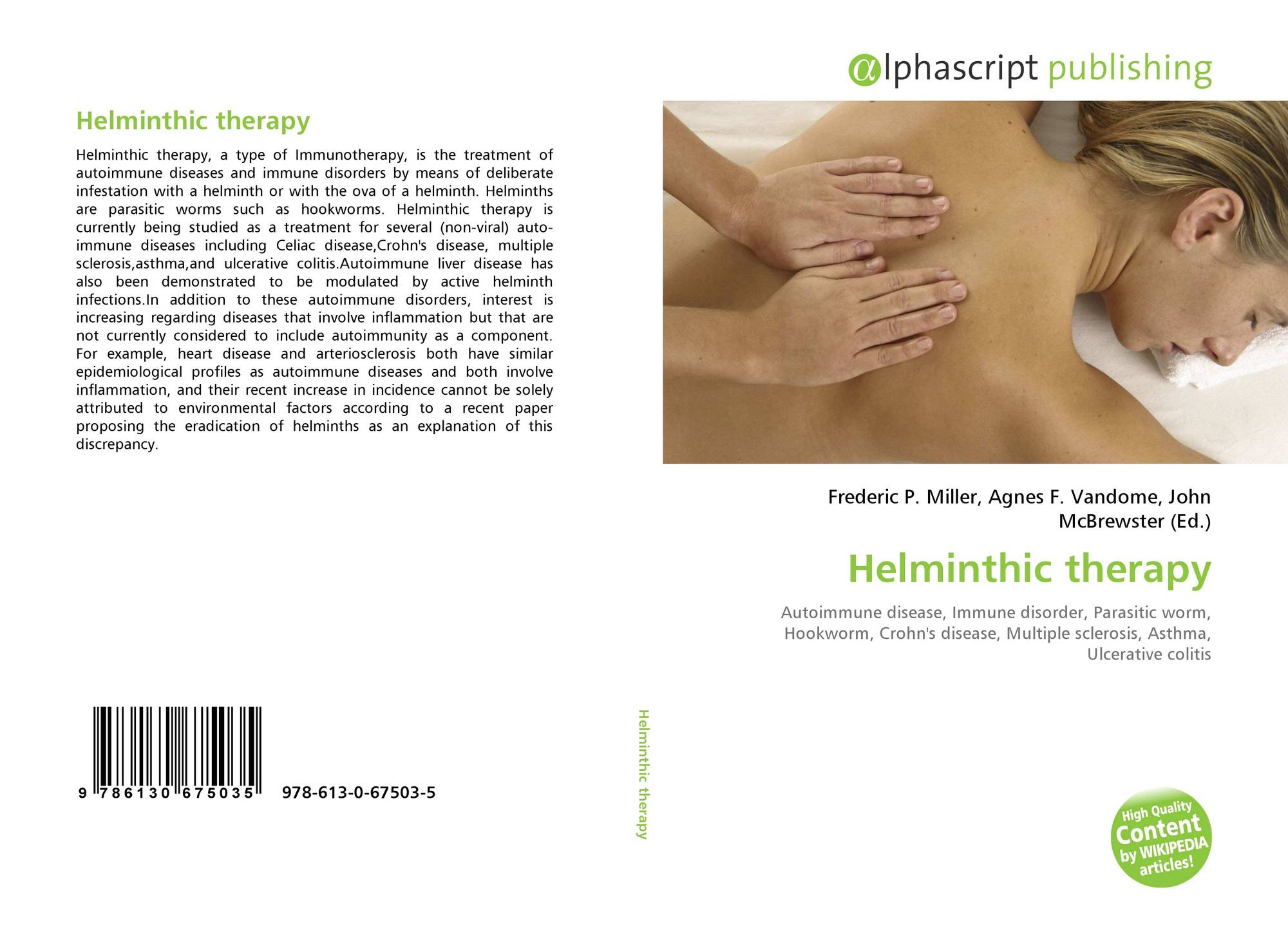 helminth therapy and skin)