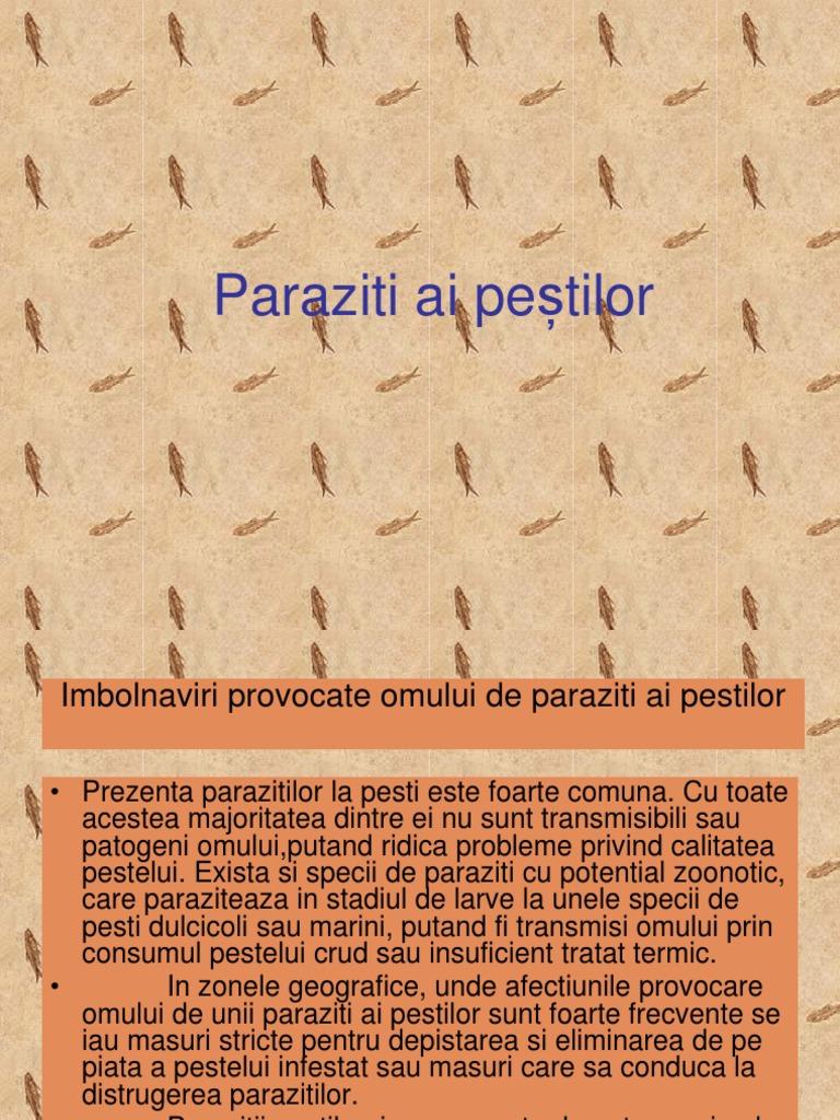 Paraziti ai pestilor