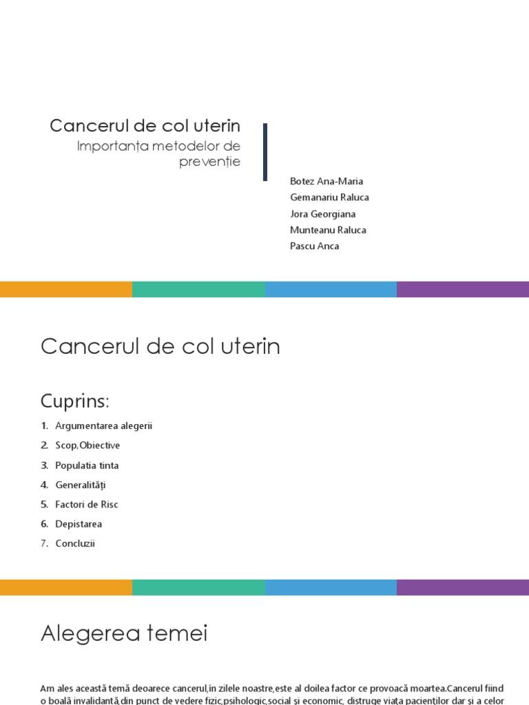 cancerul de col uterin se transmite la barbati)