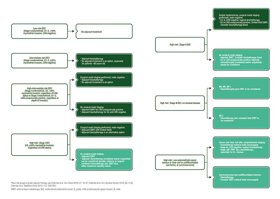 endometrial cancer esmo guidelines)