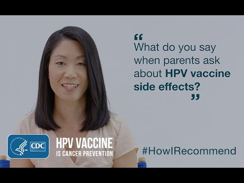 hpv vaccine side effects last)