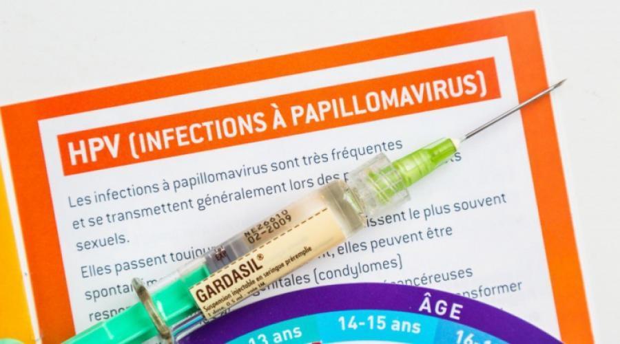 hpv femme vaccin
