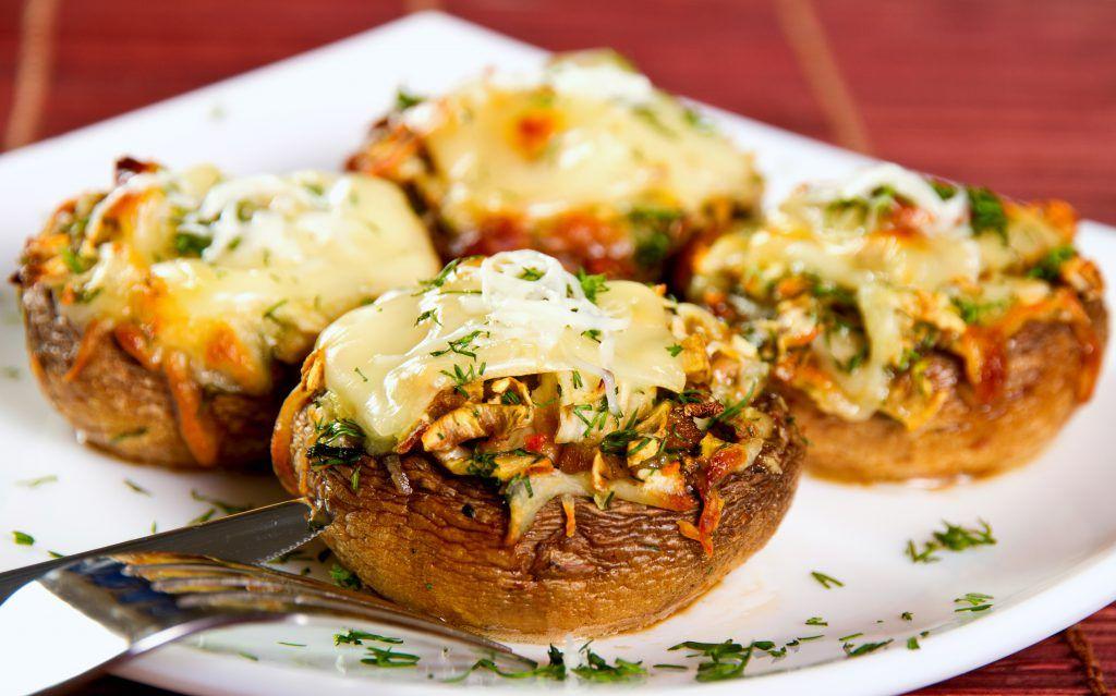 ciuperci quatro formaggi