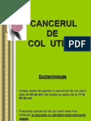 cancerul de col uterin in engleza