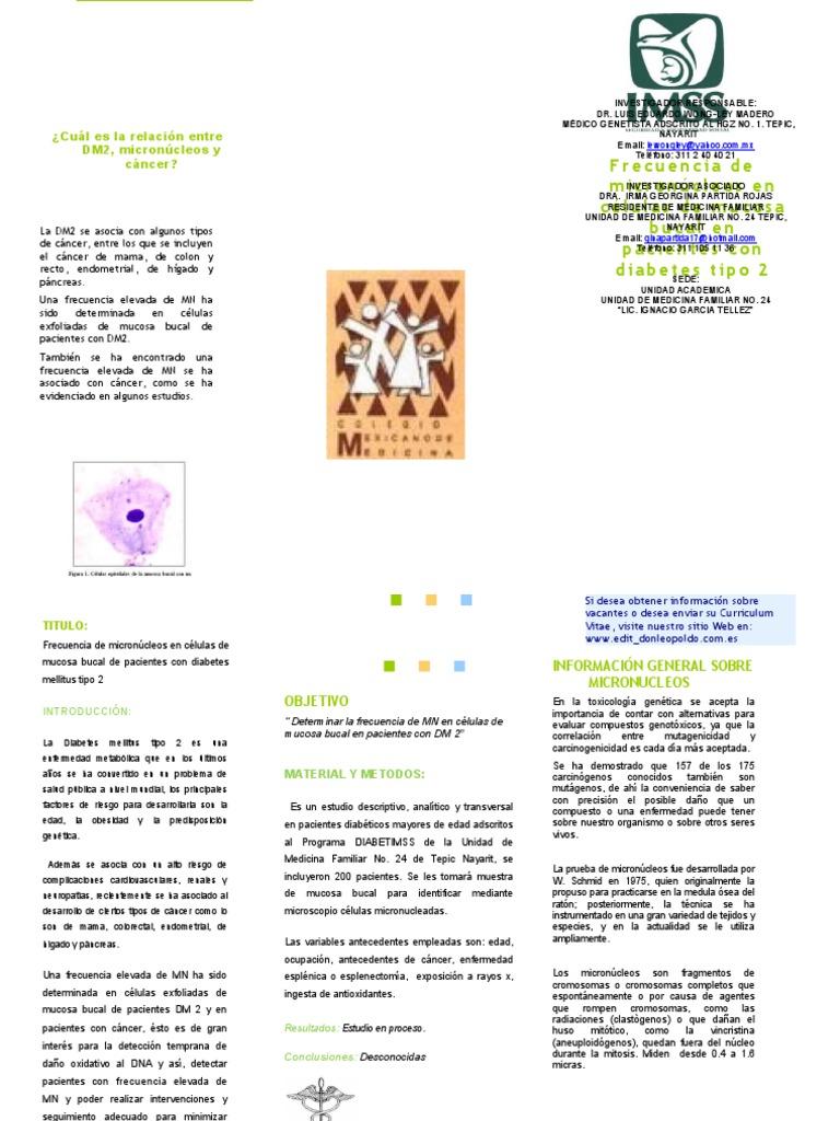 cancer bucal triptico)