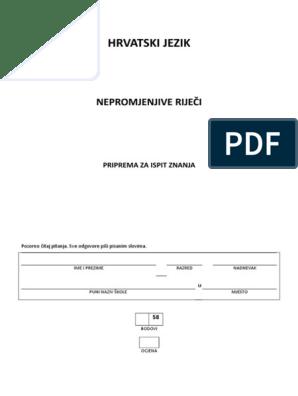 Best Padezi vjezba Documents | Scribd