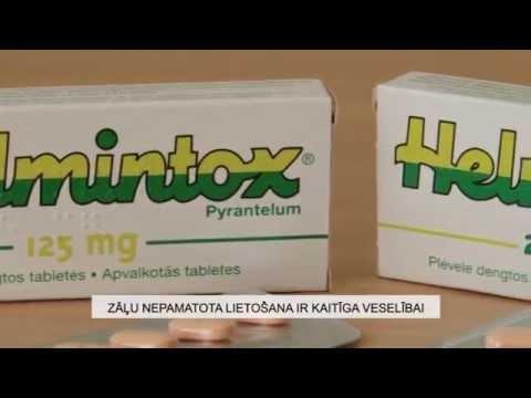 Vermox deoarece îndepărtează paraziții