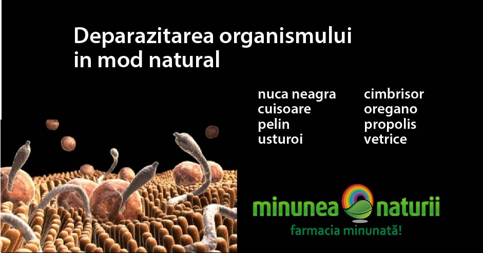 produs natural pentru paraziti intestinali)