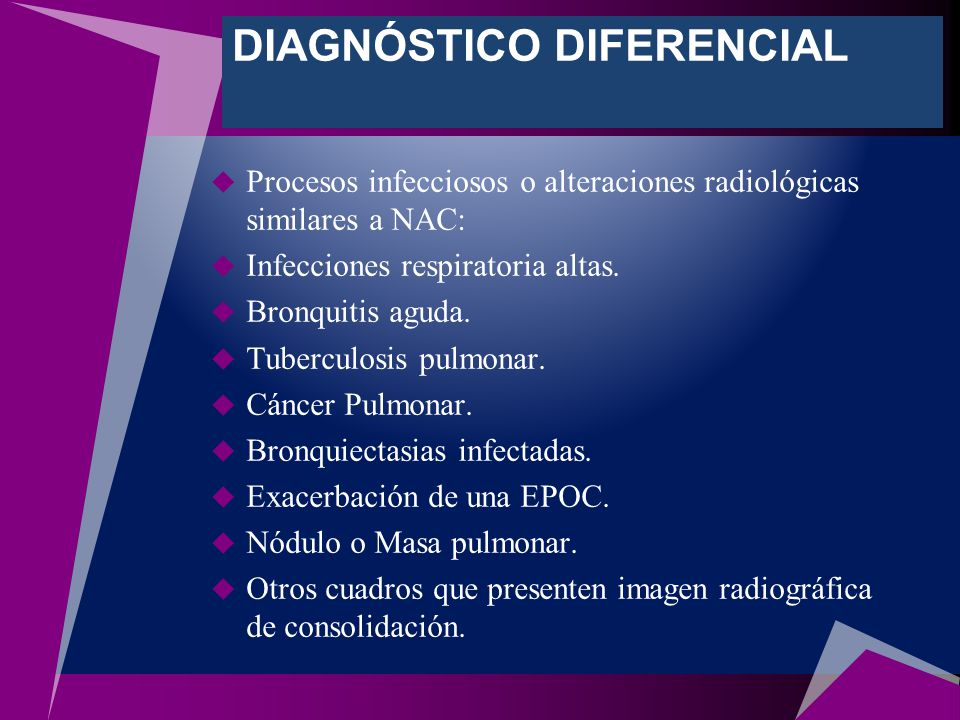 cancer pulmonar diagnostico diferencial)