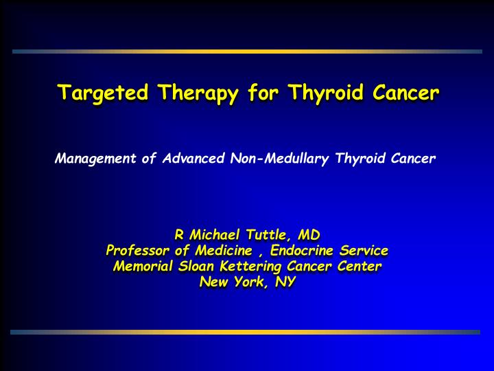 papillary thyroid cancer sloan kettering)