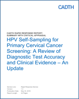 hpv and cervical cancer ncbi)