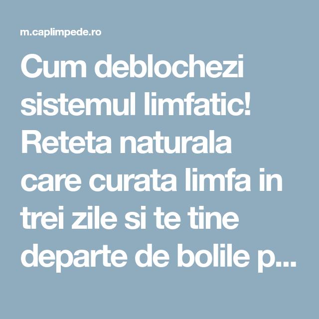 detoxifiere pentru limfa)