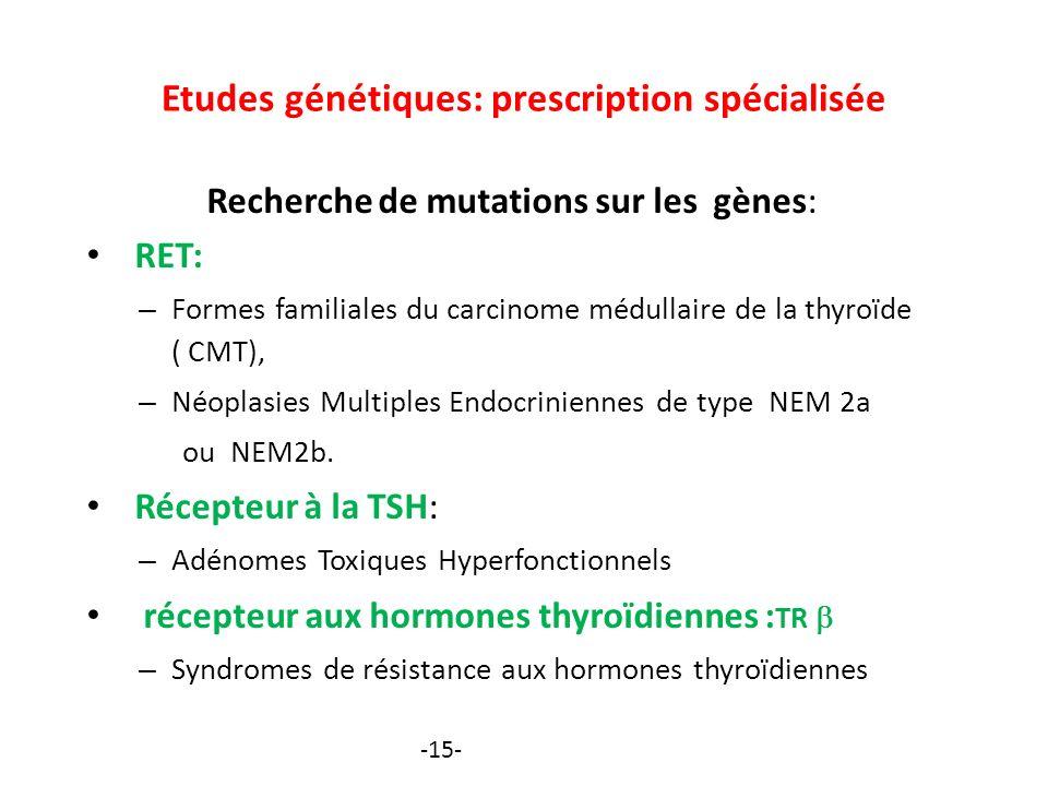 cancer thyroide familial)