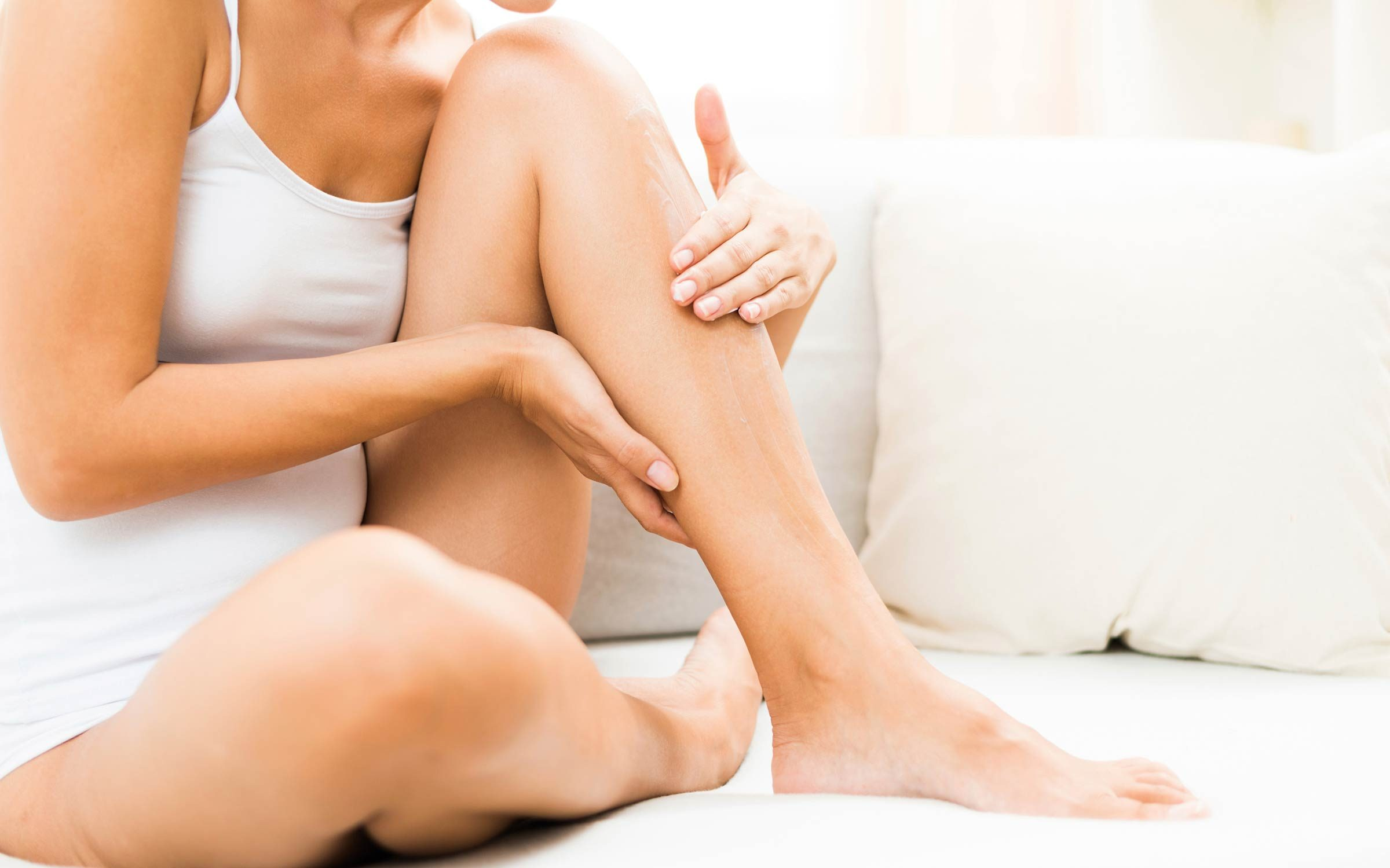 endometrial cancer leg pain)