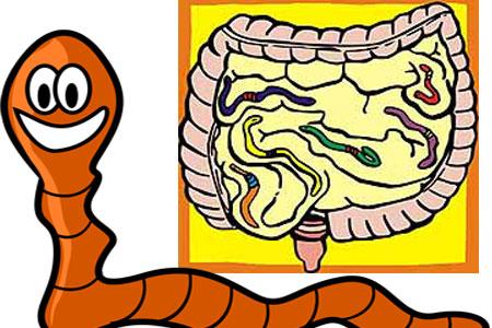 paraziti cilveka organisma simptomi)