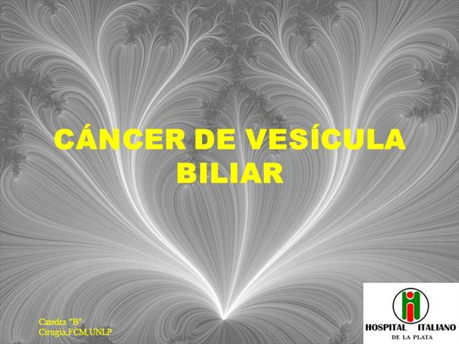cancer vesicula biliar ppt)