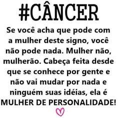 cancer personalidade feminina