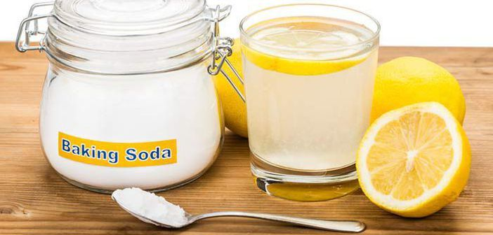 detoxifiere cu apa lamaie si bicarbonat