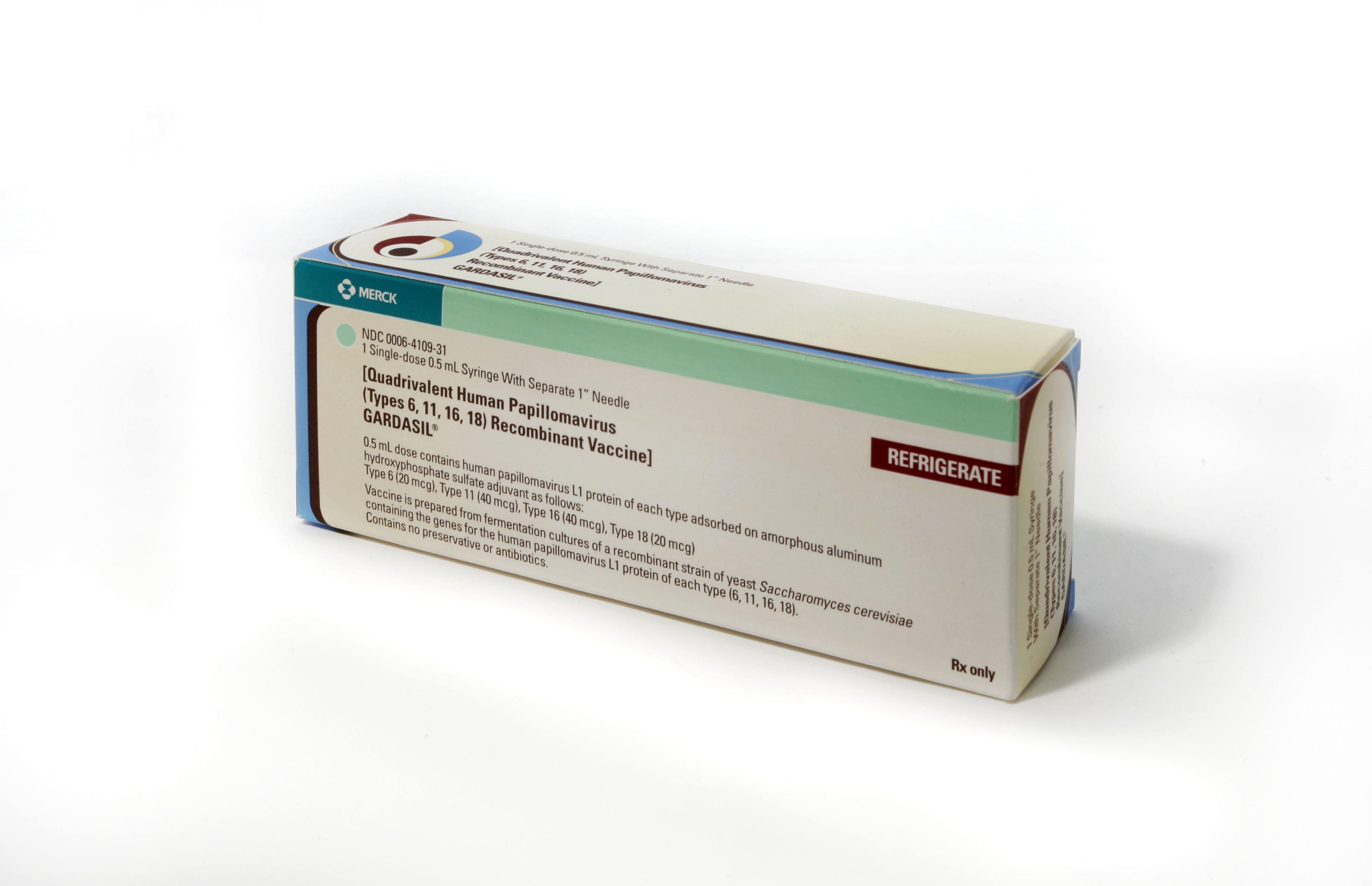ndc human papillomavirus vaccine