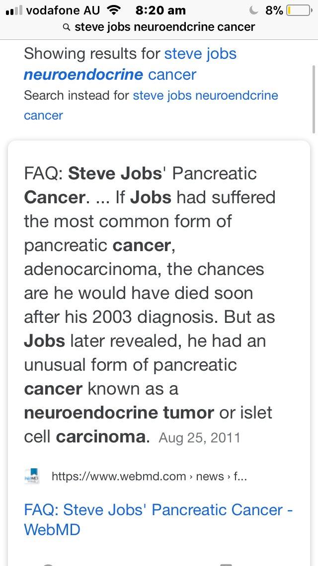 neuroendocrine cancer webmd