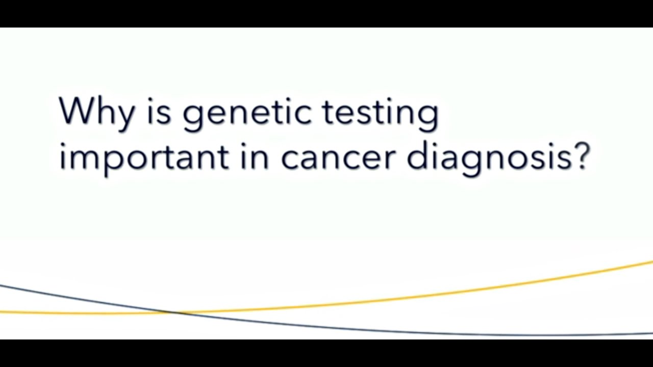 genetic cancer diagnosis)