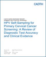 hpv cervical cancer ncbi)