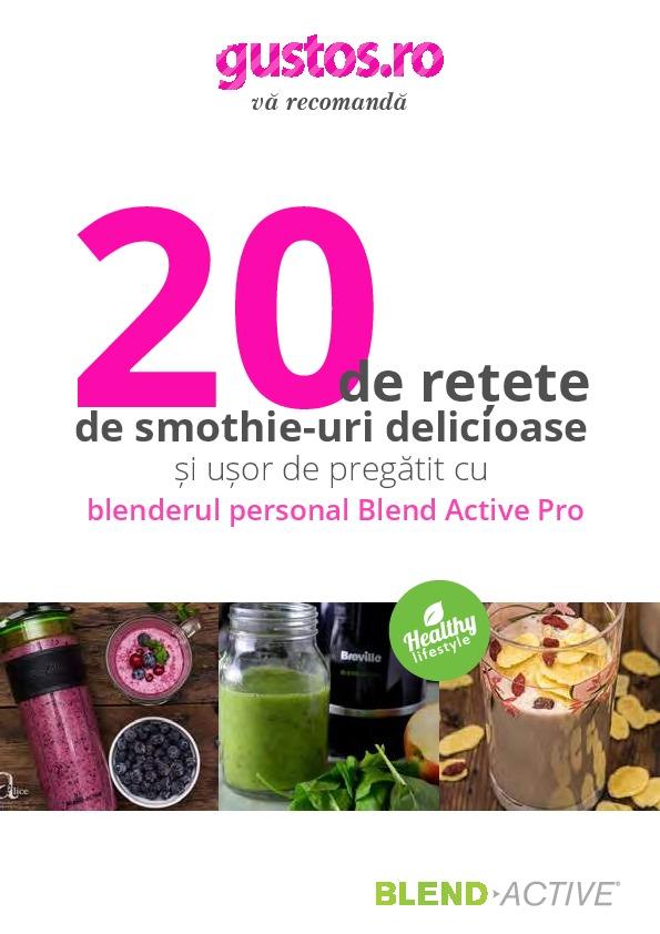 7 smoothie & 7 zile ( Cura Detox )