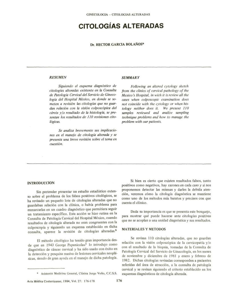 cancer san analize)