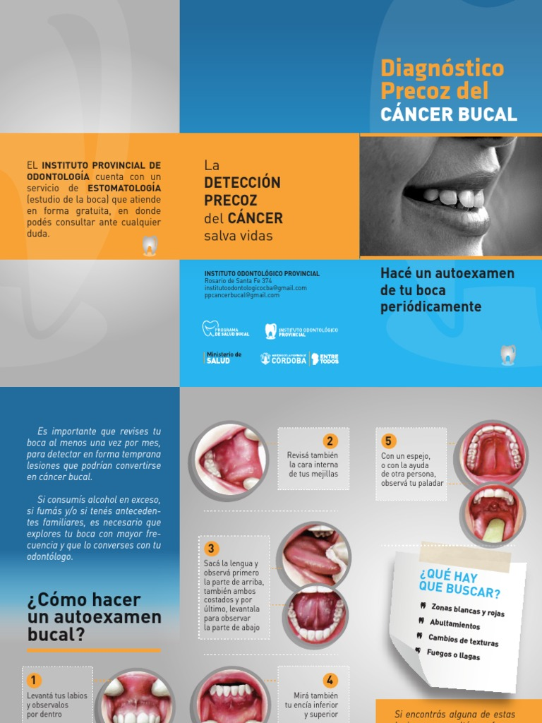 cancer bucal triptico)