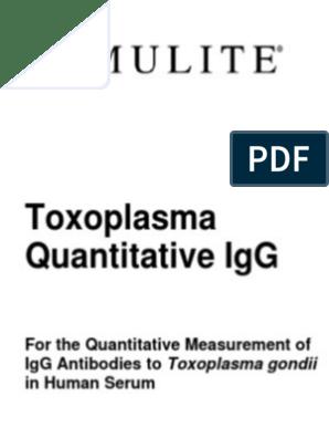 anticorpi anti toxoplasma gondii igg