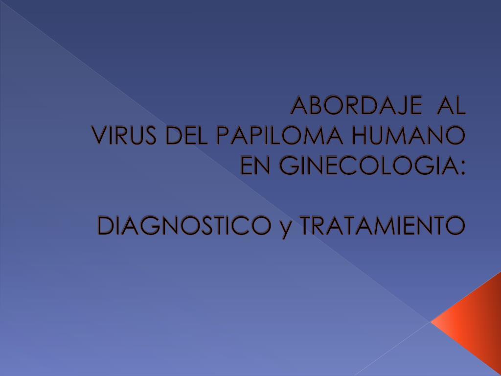 ginecologia papiloma virus