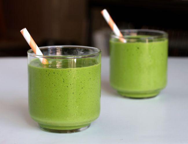 Smoothie verde, cu efect detoxifiant