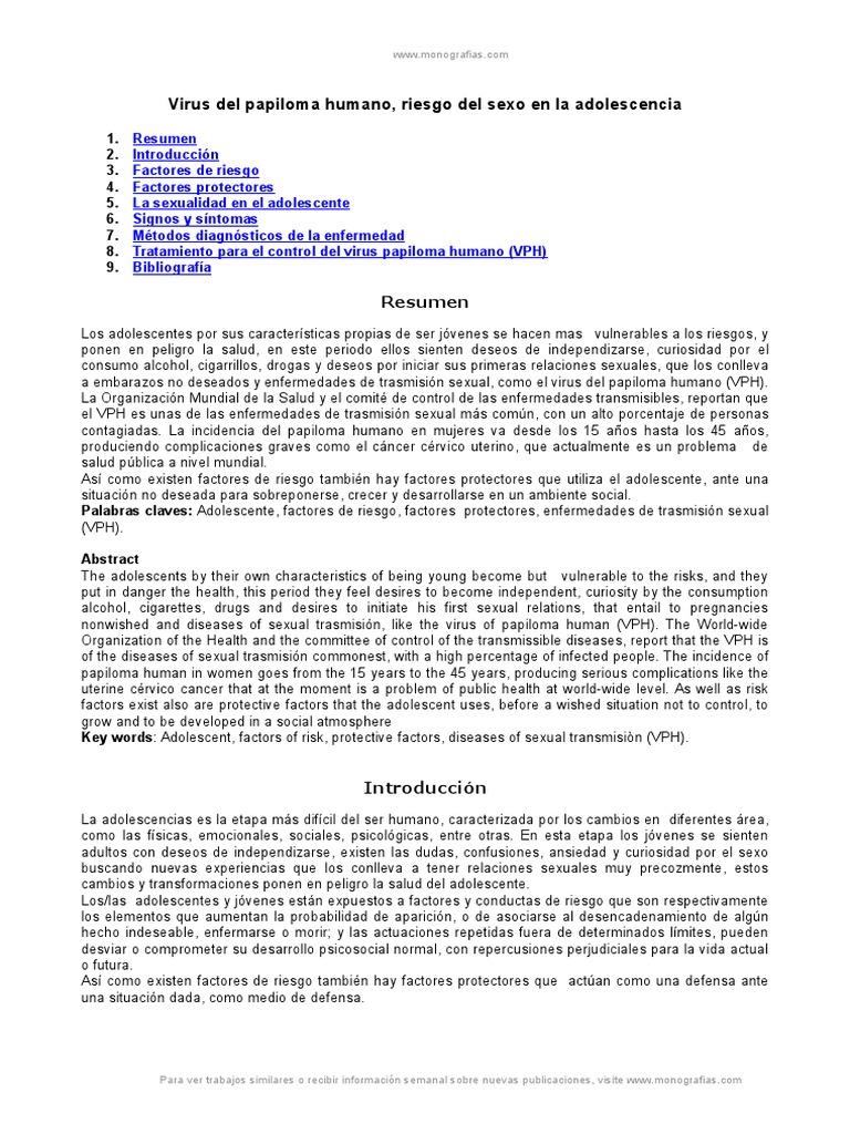 virus de papiloma humano monografias)