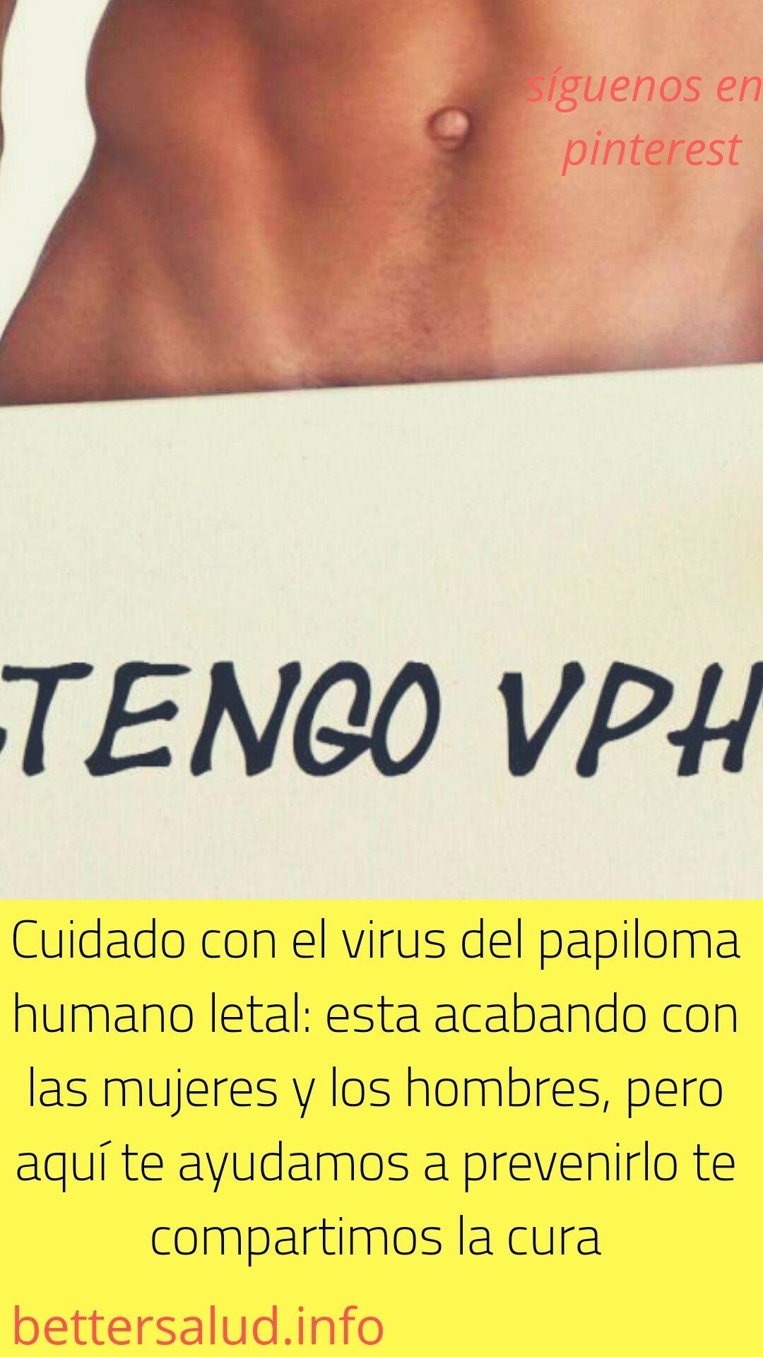 virus papiloma humano cura hombres