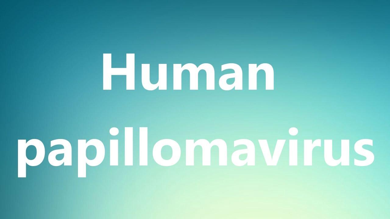 human papillomavirus dictionary
