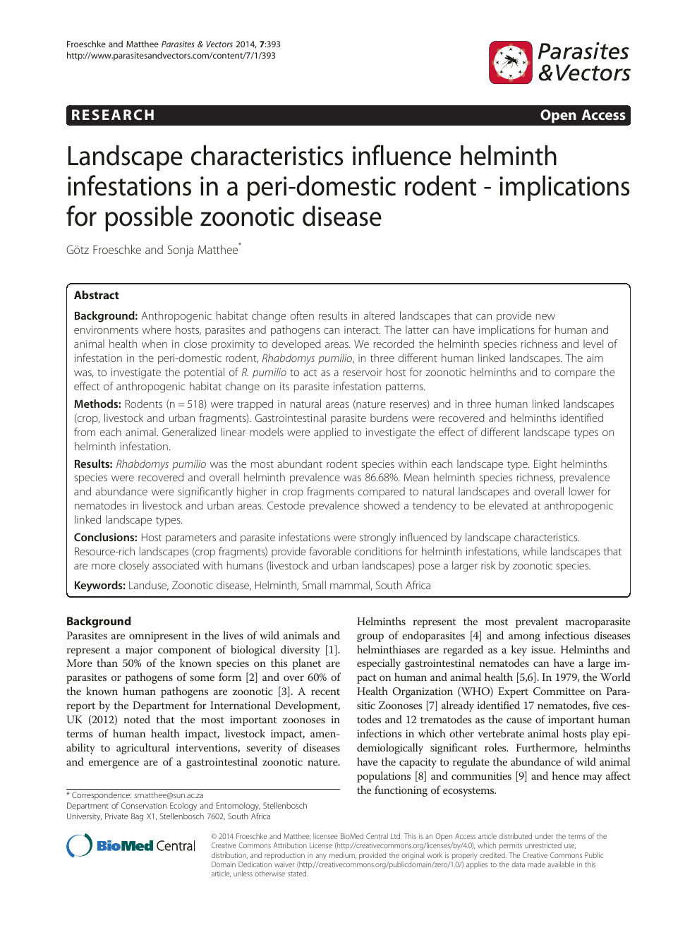 helminth zoonotic diseases helmintox ordonnance