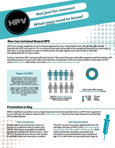 hpv males cure