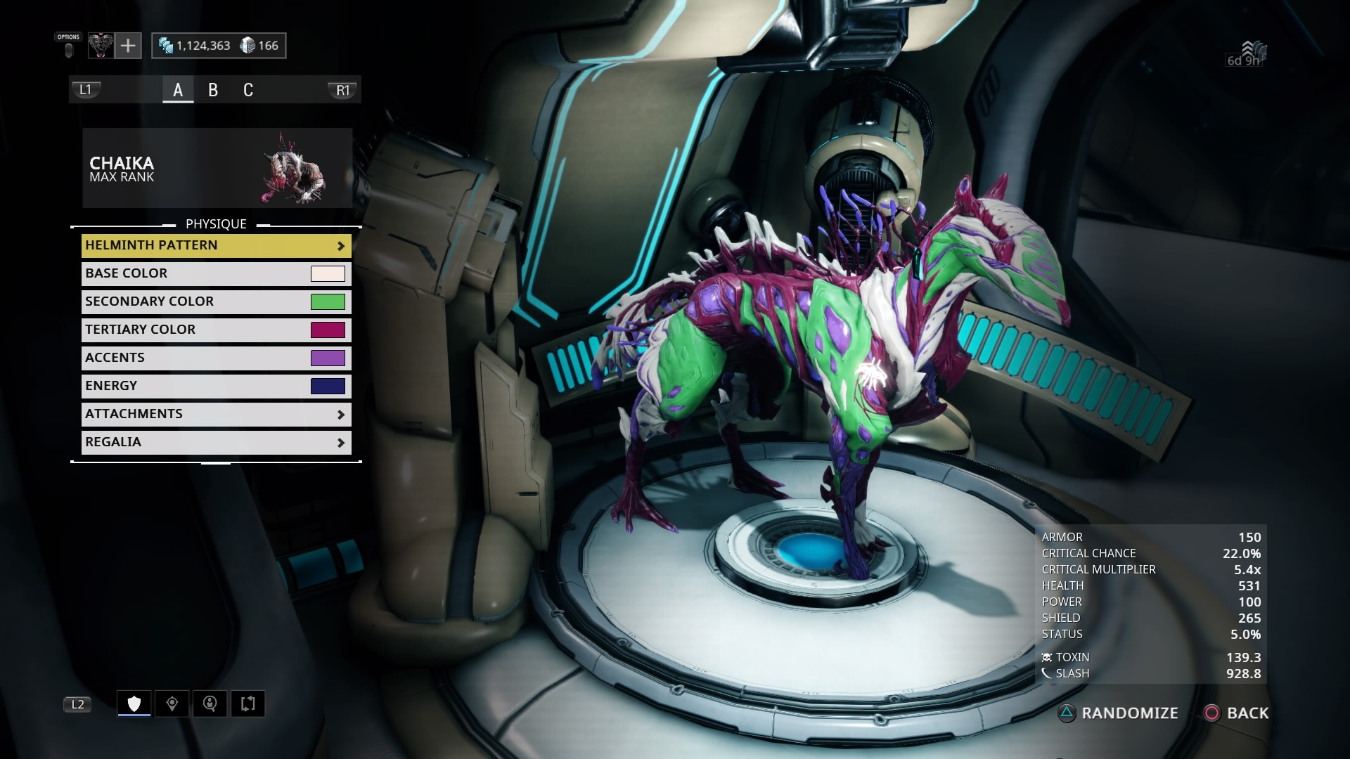 helminth charger infection)