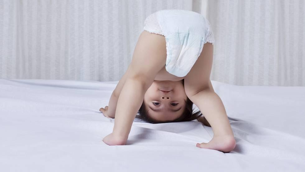 Picazón en el talón de un niño