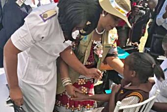 human papillomavirus vaccine in zambia)