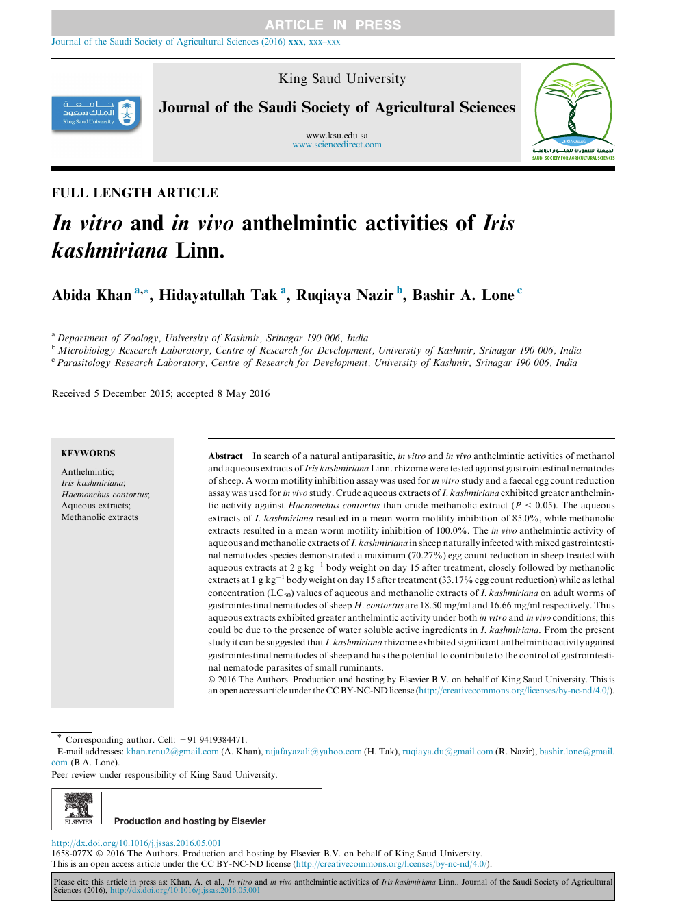 anthelmintic activity articles peritoneal cancer brain metastases