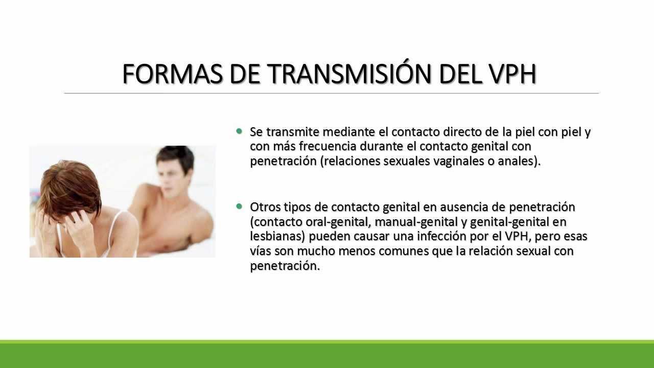 como se transmite del papiloma humano cancer de uretra masculina